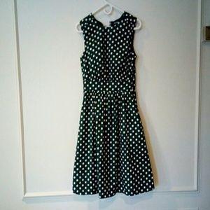 Dark Green Modcloth Dress Small